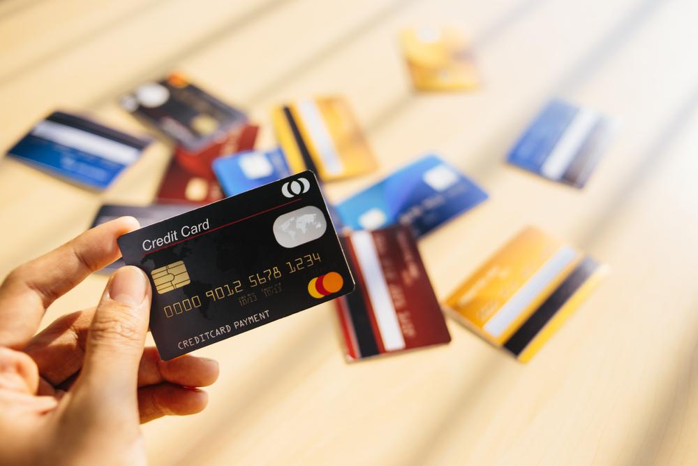 creditcards bekijken